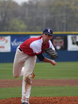 Lakeside pitcher Braydon Jones