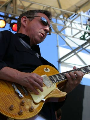 Blues guitarists Gary Burford and Robbie Laws (pictured) will play together at Trinity Vineyards' July 29 Summer Music series 6 to 9 p.m. $10.