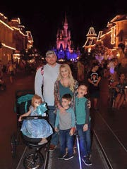 Megan and her family took a trip to Disney World shortly before she passed.