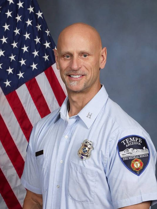 Tempe Fire Captain Frank Reed