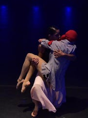 """'I'm in Here,' by Vortex Dance Company,"""" shed light on the struggles of breast cancer patients and their families."""