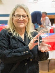 Norwayne Volunteer of the Year Karen Trudell.