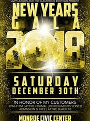 The inaugural Pre-New year's Gala is Saturday.