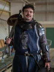 "Sean Krachun, a Marlton native and Cherokee graduate, is a medieval fighter in the Armored Combat League. A true ""knight in shining armor."""