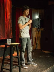 Vaughan Veillon co-hosts Lafayette Comedy's weekly
