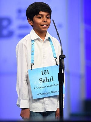Sahil Langote represented Delaware in the Scripps National Spelling Bee.