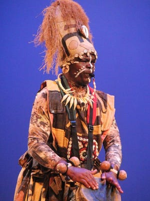 African drummer Thobos Lubamba is at the Florida African Dance Festival this weekend at FAMU.