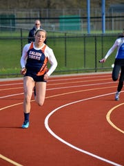 Kylie Redman takes to the track for her sophomore season a year after tearing her ACL.