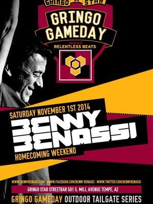 Benny Benassi performs this Saturday at Gringo-Star Street Bar.