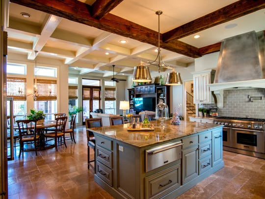 Gourmet kitchen offers every amenity you would expect.