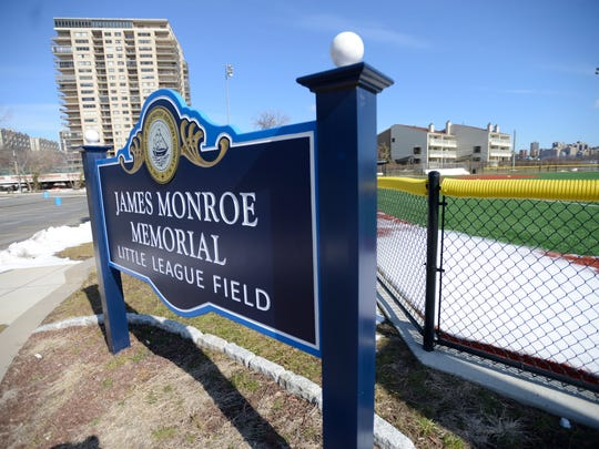 New baseball fields at Veterans Field in Edgewater.