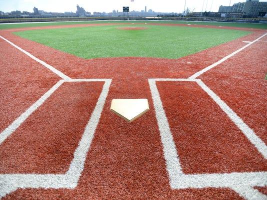 New baseball fields at Veterans Park in Edgewater