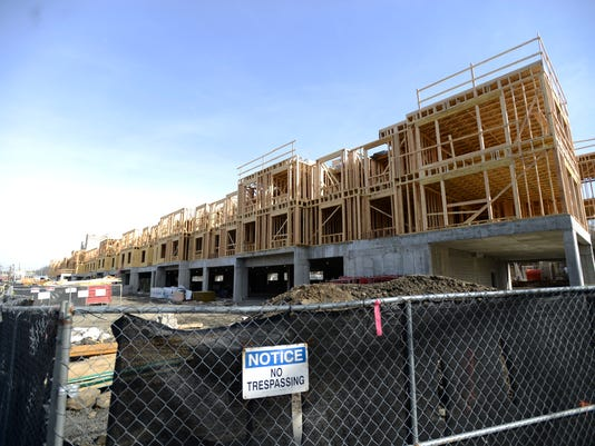 Construction on Waldwick apartment complex