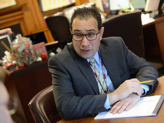 Englewood superintendent of schools speaks with The Record