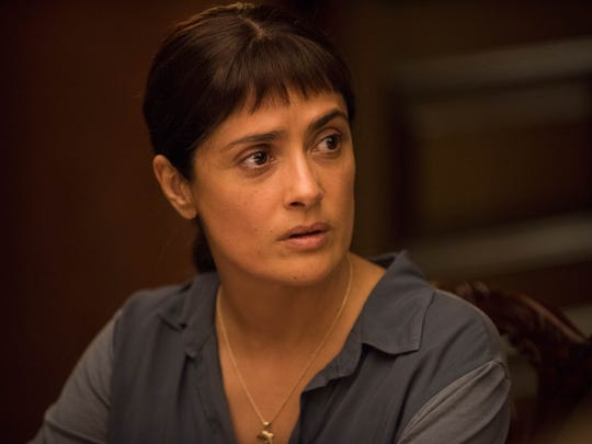 Salma Hayek stars as a beleaguered Mexican immigrant
