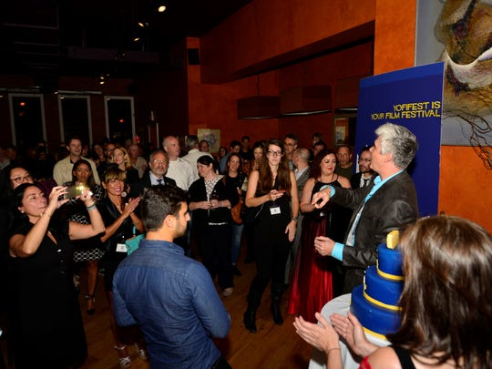 Reception at Yonkers Film Festival