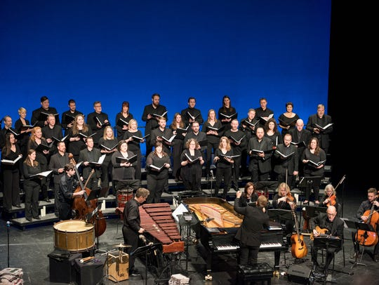 Vocal Arts Ensemble music director Craig Hella Johnson,