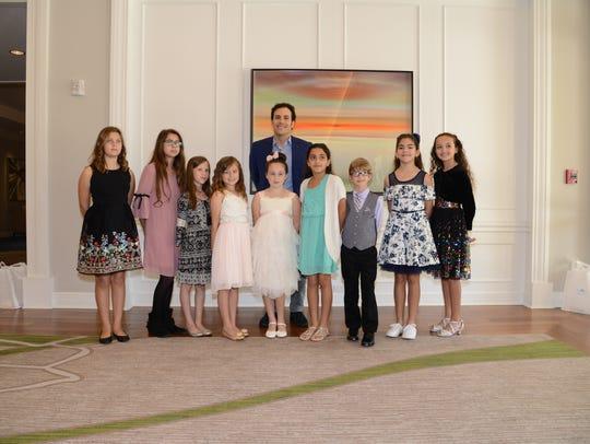The nine winners of the Barbara Bush Foundation for