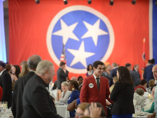 The Tennessee Democratic Party Three Star Dinner begins