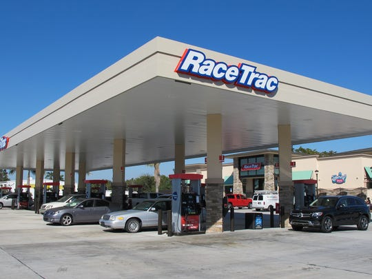 A RaceTrac gas station and convenience store, similar to this one on the corner of Collier Boulevard and Manatee Road in East Naples, is planned for the second phase of Cameron Commons on Immokalee Road.