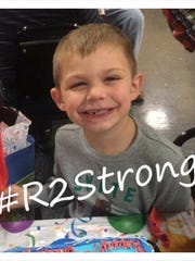 Ronald Weaver, 7, of Conway
