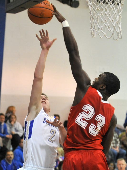 BASKETBALL: Plymouth at St. Peter's