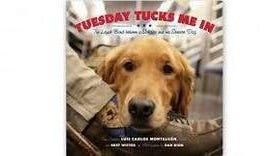 Come meet Luis Carlos Matalvan and his best friend and service dog, Tuesday