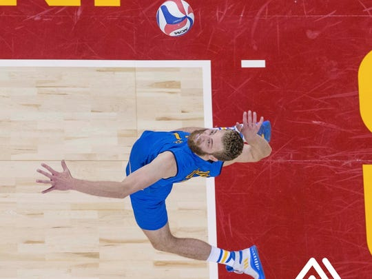 Mitch Stahl goes for the kill at UCLA.