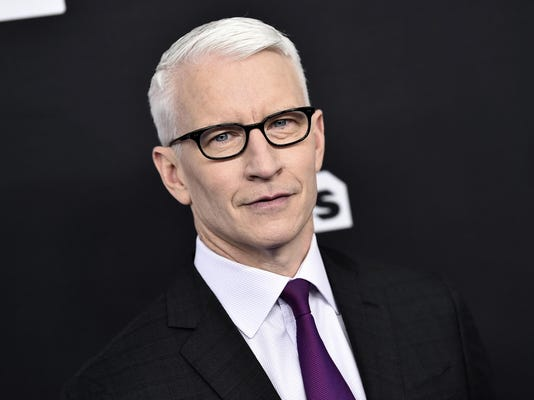 Cronkhite Award Cooper,Anderson Cooper