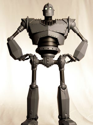 """A 16-inch toy of the robot from """"The Iron Giant"""" is part of Mondo's first wave of collectible toys."""