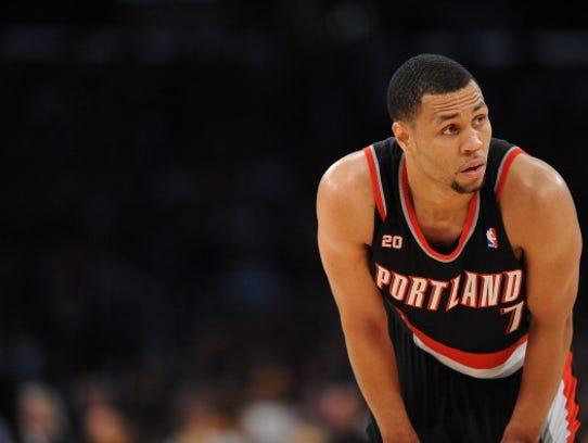 LOS ANGELES - NOVEMBER 7:  Brandon Roy #7 of the Portland