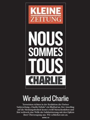 """""""Kleine Zeitung"""" from Graz, Austria."""
