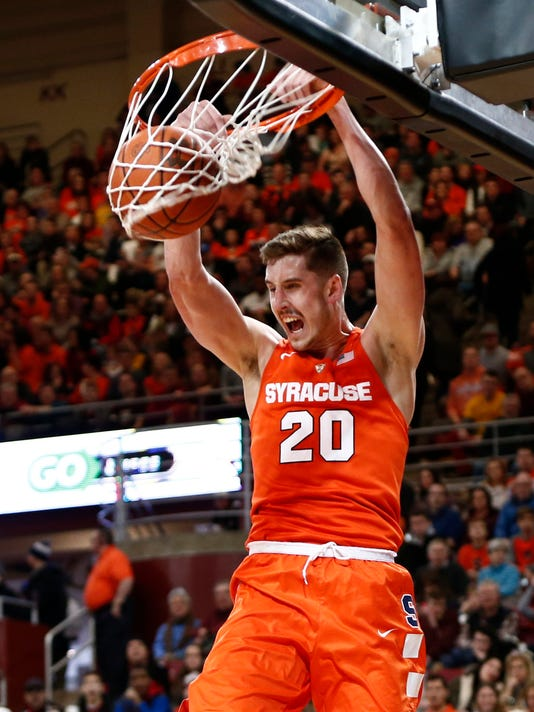 Pine Plains Lydon Fulfills March Madness Dream As Syracuse