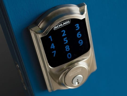 Schlage Connect smart lock.