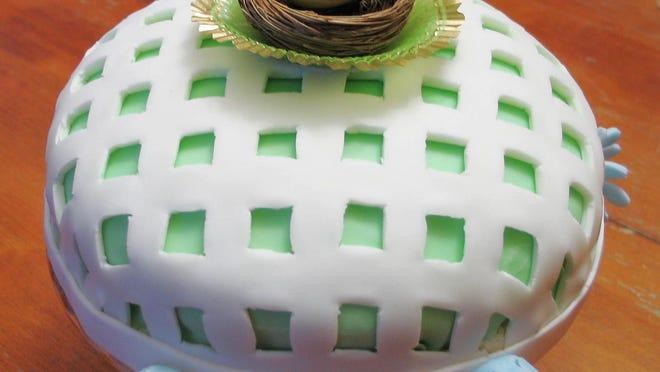 Bird's Nest Cake.
