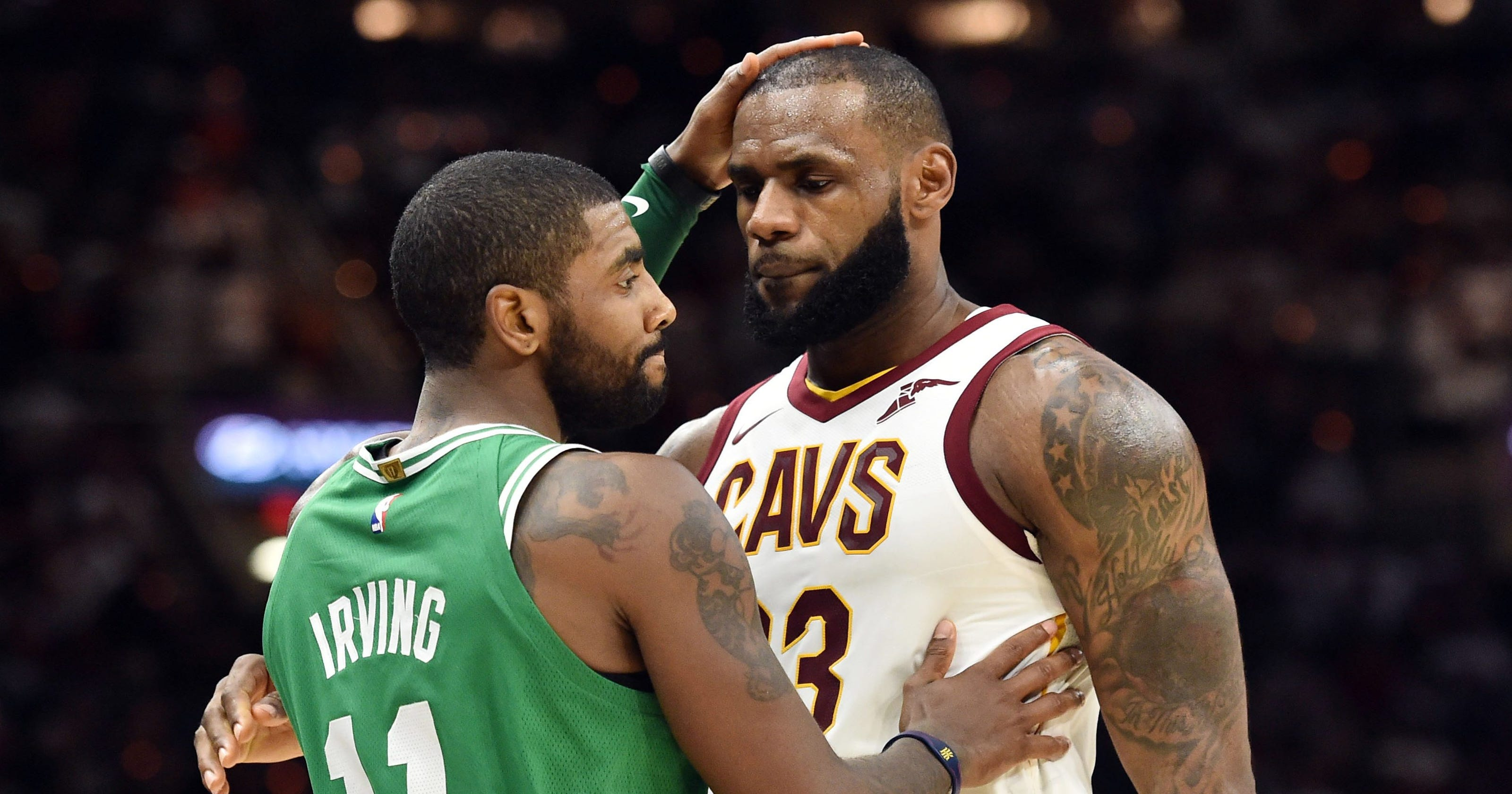 new style 81d52 e8504 LeBron James says he told Cavaliers GM not to trade Kyrie Irving
