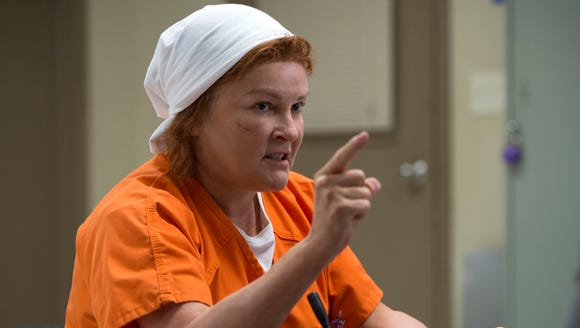Red's (Kate Mulgrew) power may have ebbed but she's still someone not to be trifled with.