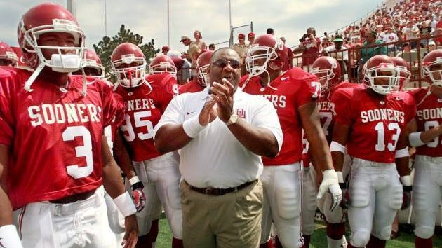 John Blake, the former OU nose guard who later served as head football coach from 1996-98, died Thursday morning at age 59. Oklahoman file