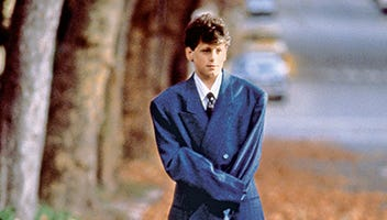 """David Moscow in the final scene as Josh Baskin in 1988's """"Big,"""" which is celebrating its 25th anniversary (with a special edition Blu-ray and DVD)."""