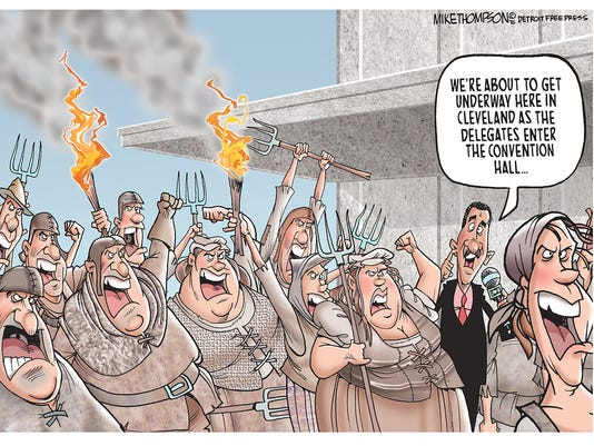 GOP Convention ugliness