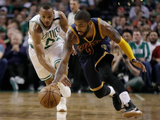 Cleveland Cavaliers guard Kyrie Irving (2) dribbles. He could be a difference maker in the NBA Finals.
