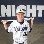 Central Catholic's Dylan Kiracofe is the 2015 Journal & Courier Small School Player of the Year for baseball.