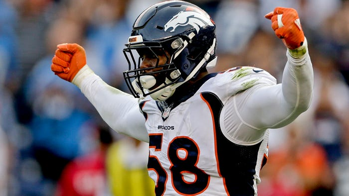 Denver Broncos linebacker Von Miller, former Super Bowl MVP, tests positive for COVID-19
