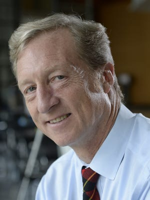 San Francisco billionaire Tom Steyer backs Clean Energy for a Healthy Arizona, which turned in more than 480,000 signatures in early July.