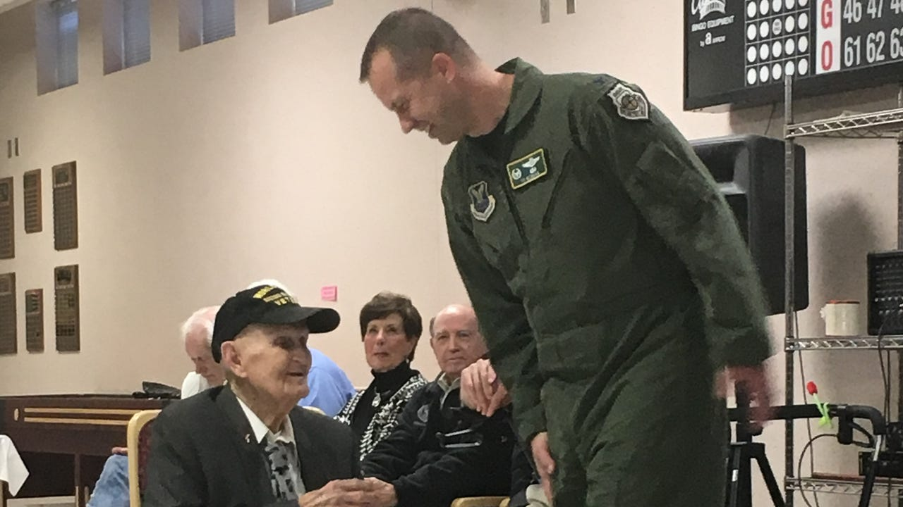 Wise, who recently turned 100 years old, was celebrated Feb. 16 at the Northwest Louisiana Veterans Home by several public officials who saluted him for his service in the Army Air Corps during World War II and heroism displayed in at least two different situations where he saved someone's life.