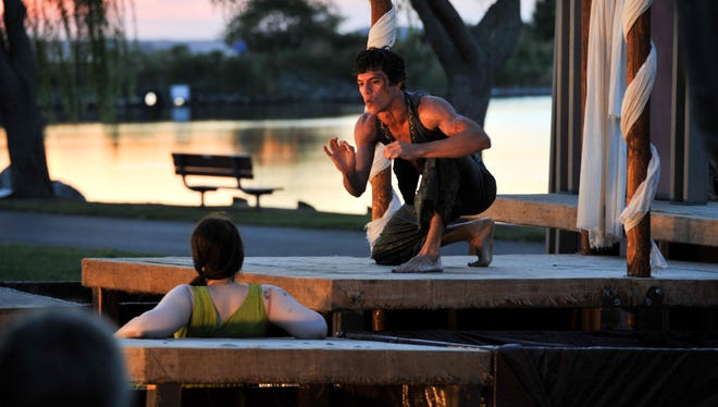 """Brown Box Theatre Project's fourth annual Free Shakespeare at the Beach will return Sept. 5-21. Last year's project featured """"Midsummer Night's Dream."""""""