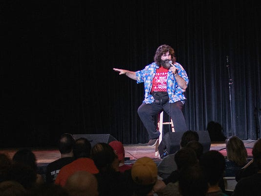 Have A Nice Day Former Wwe Superstar Mick Foley Excited For New Venture