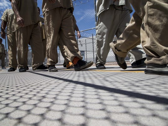 The Eloy Detention Center is run by Nashville-based Corrections Corporation of America, one of the largest private prison contractors in the country, under contract with ICE.