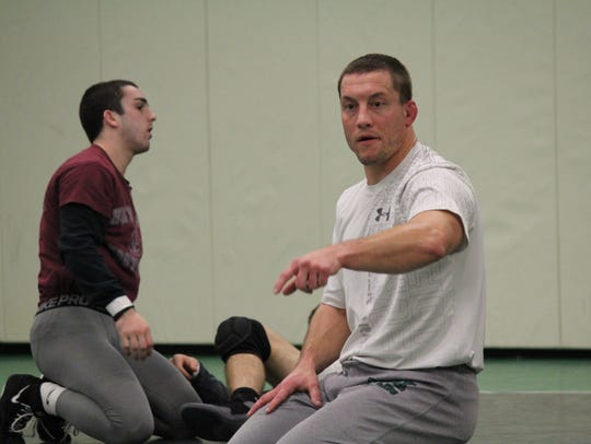 York College wrestling coach Duane Bastress has six NCAA Division III national qualifiers returning this season. DISPATCH FILE PHOTO