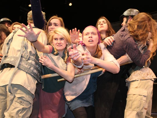 """Middlebury College hosts the play """"The Women of Troy"""""""